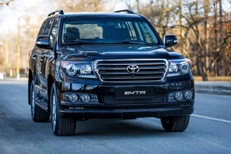 Обвес Toyota Land Cruiser 200 Series Рестайлинг 2012 – 2015